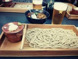 Nice meal at Tokyo tower. Didnt expectthe noodles to be cold though!